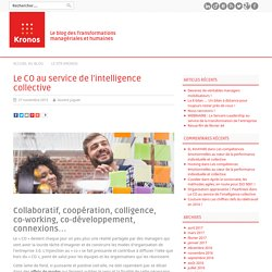 Le CO au service de l'intelligence collective