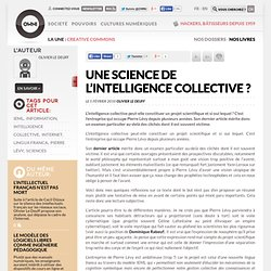 Une science de l'intelligence collective ?