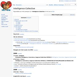 Intelligence Collective - NVCwiki