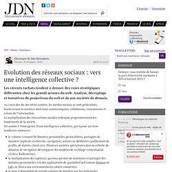 Evolution des réseaux sociaux: vers une intelligence collective ?