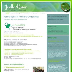 Formations sur mesure, workshops, PNL, intelligence émotionnelle, CNV, gestion de conflit, amélioration de la communication, gestion du temps, Strat'nGoTM