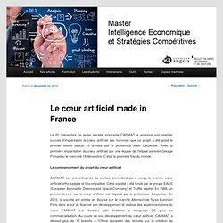 Master Intelligence Economique et Stratégies Compétitives
