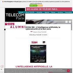 Revue TELECOM 190 - L'intelligence artificielle, la cybersécurité et le bon sens