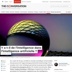 Y a-t-il de l'intelligence dans l'intelligence artificielle?
