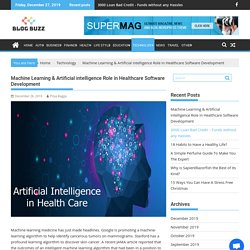 How Artificial intelligence Impact In Healthcare Software Development ?