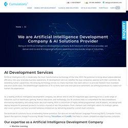 Artificial Intelligence Development Company