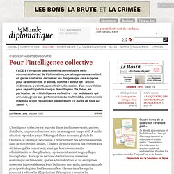 Pour l'intelligence collective, par Pierre Lévy