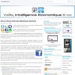 De la veille sur les #réseaux sociaux : Veille, Intelligence Economique and Co