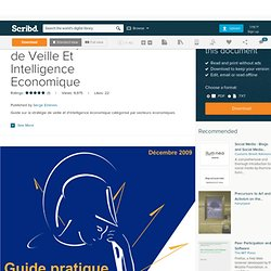 Guide Pratique Outils de Veille Et Intelligence Economique