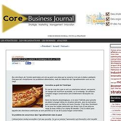 CORE BUSINESS JOURNAL 28/02/14 Problème d'intelligence économique pour la pizza