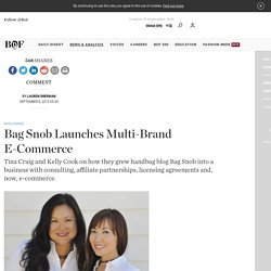 Bag Snob Launches Multi-Brand E-Commerce
