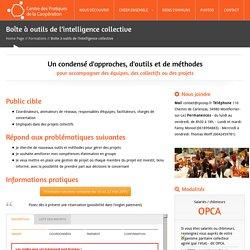 Boîte à outils de l'intelligence collective - formationCentre des pratiques de la coopération