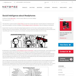 Enterprise Social Intelligence Platform | NetBase
