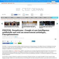 Deepdream : Google et son intelligence artificielle ont créé un mouvement artistique, l'inceptionnisme