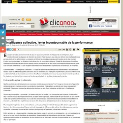 L'intelligence collective, levier incontournable de la performance - Economie