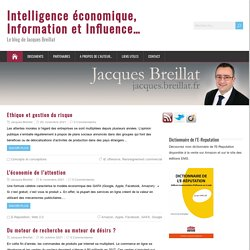 IE & Influence J. Breillat