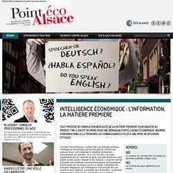 Intelligence économique : L'information, la matière première