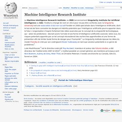Machine Intelligence Research Institute