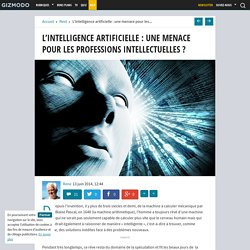 L'intelligence artificielle : une menace pour les professions intellectuelles ?