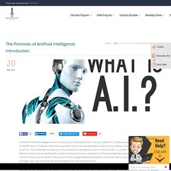 The Promises of Artificial Intelligence: Introduction