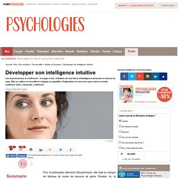L'intelligence intuitive - Sixième sens et intuition