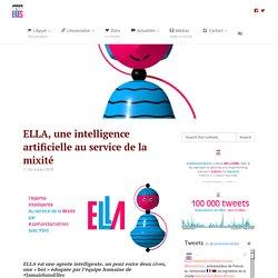 ELLA, une intelligence artificielle au service de la mixité #JamaisSansElles