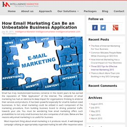 Intelligence Marketer - Email Marketing Services