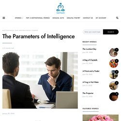 The Parameters of Intelligence/Motivational Story/Soul Touch