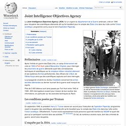 Joint Intelligence Objectives Agency