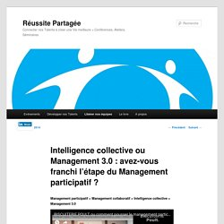 Intelligence Collective et Management Participatif
