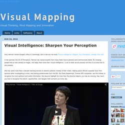 Visual Intelligence: Sharpen Your Perception