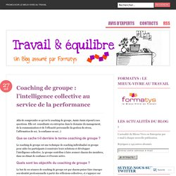 Coaching de groupe : l'intelligence collective au service de la performance
