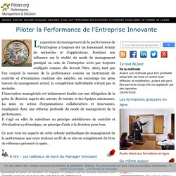 Performance Management et Business intelligence. Le portail francophone piloter la performance.