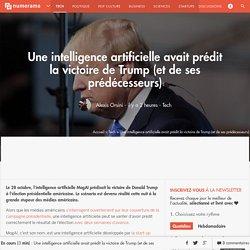 Une intelligence artificielle avait prédit la victoire de Trump (et de ses prédécesseurs) - Tech