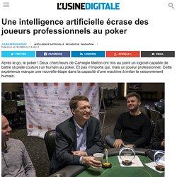 Une intelligence artificielle écrase des joueurs professionnels au poker