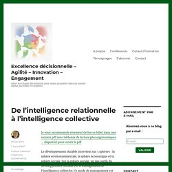 De l'intelligence relationnelle à l'intelligence collective