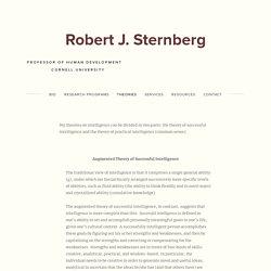 Intelligence — Robert J. Sternberg