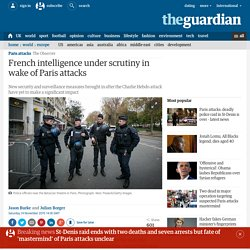 French intelligence under scrutiny in wake of Paris attacks