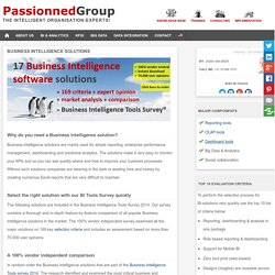 Business Intelligence Solutions