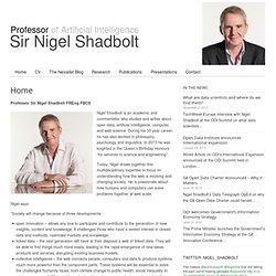 Professor Nigel Shadbolt
