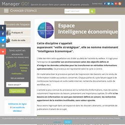 Intelligence économique et veille stratégique, méthodes et pratiques