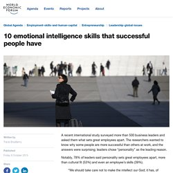 10 emotional intelligence skills that successful people have