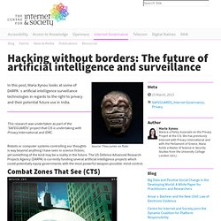 Hacking without borders: The future of artificial intelligence and surveillance —