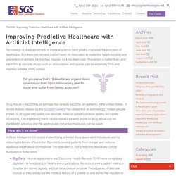 Improving Predictive Healthcare with Artificial Intelligence