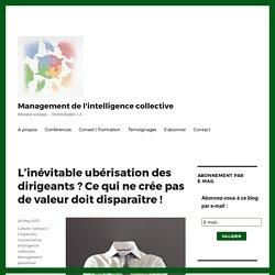 - Management de l'intelligence collective