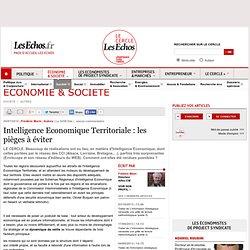Intelligence Economique Territoriale : les pièges à éviter