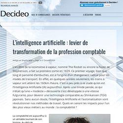 L'intelligence artificielle : levier de transformation de la profession comptable