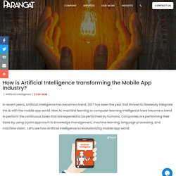 Top Artificial Intelligence Solution Providers