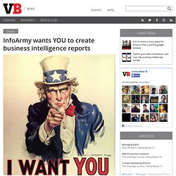 InfoArmy wants YOU to create business intelligence reports