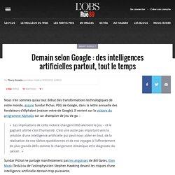 Demain selon Google: des intelligences artificielles partout, tout le temps